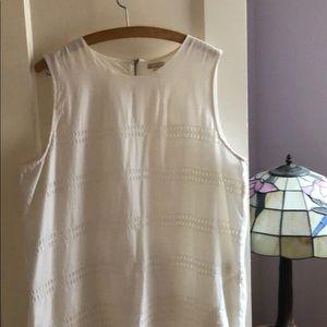 GAP Dresses - Gap White Linen Shift Dress